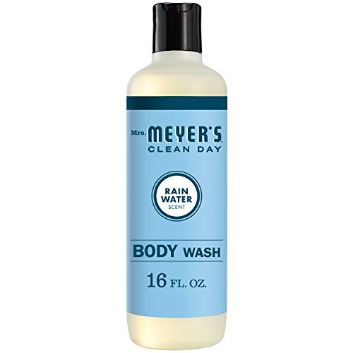 Mrs. Meyer's Clean Day Body Wash, RainWater Scent, 16 Ounce Bottle