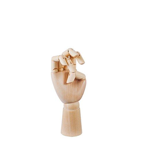 HAY Wooden Hand S 503651 Braun