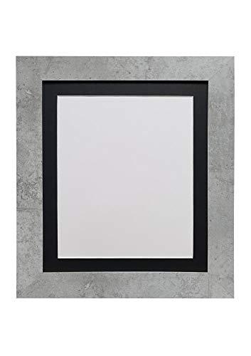 FRAMES BY POST Metro - Marco de fotos (A3, tamaño A4), color gris mineral y negro