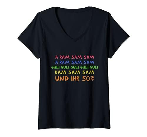 Mujer Divertidos frases de kita y aramsamsamsamsamsamsamsamsamsamo. Camiseta Cuello V