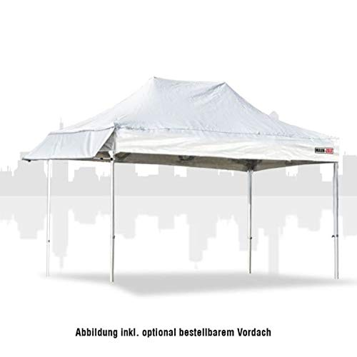 Marktzelt 3x4,5m (PVC) ohne Seitenwände - Marktstand Verkaufszelt Pavillon Gestellvariante Premiumline