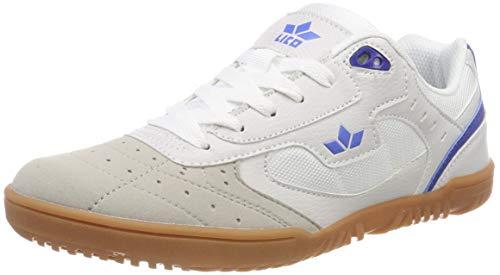 Lico Basic Indoor Unisex Erwachsene Multisport Indoor Schuhe, Weiß/ Blau, 41 EU