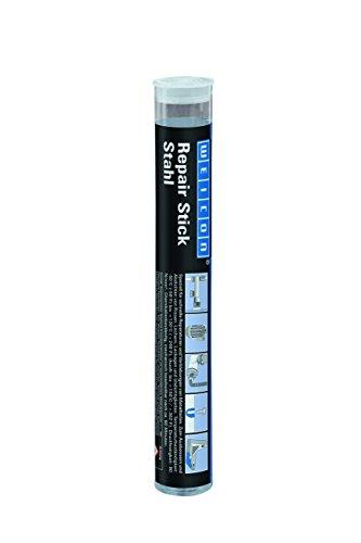 WEICON Repair Stick | Stahl | 115g |2 Komponenten Kleber |Epoxidharz | Spezialkleber | schnell u. hochfeste Reparatur für Metallteile, Behälter uvm.