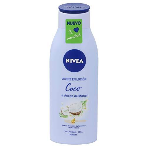 Nivea Loción Corporal con Aceite de Coco y Aceite de Monoi, Piel Normal a Seca, 400ml
