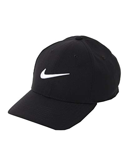 Nike Unisex-Adult U Nk Dry L91 Sport Baseball Cap, Black/White, MISC