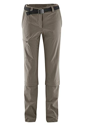 Maier Sports Arolla - Pantalon Zip Femme - Collants Longs Marron Modèle 44 2014