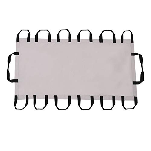 HNYG Transfer Pad Transfer Sheet with Handles, Transfer Board for Patient Transfer, Turning, and Repositioning in Beds, Hospitals and Home Care, Sturdy Position Bed Pad (206x101CM)