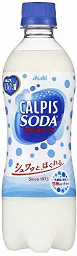 カルピス カルピスソーダ 500mlペット 24本入