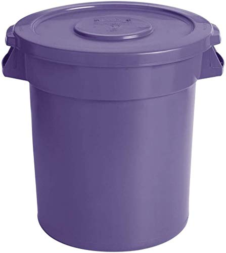 Pack of 5 41 Many popular brands Qt. 10 Gallon Credence Round 38 Purple Liters Commercia