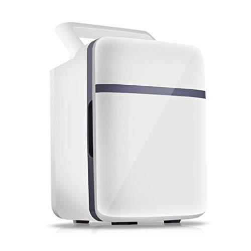 Mini Fridge Small Refrigerator Mini Fridge Cooler & Warmer 10L Capacity, Compact, Portable and Quiet, AC+DC Power Mini Refrigerator