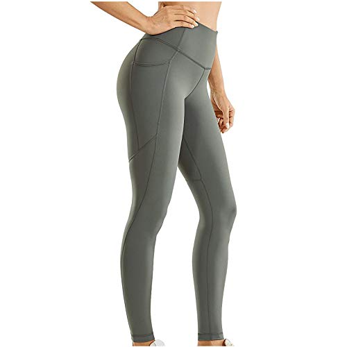 TWIOIOVE Leggings para Mujer, Mujer Mallas Deportivo Pantalón Elastico para Running Fitness Estiramiento Yoga y Pilates
