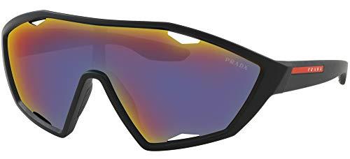 Preisvergleich Produktbild Ray-Ban Herren 0PS 10US Sonnenbrille,  Schwarz (Black Rubber),  40.0