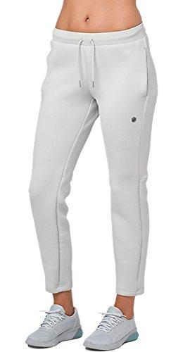 ASICS Pantalón de punto para mujer, M, Gris(Mid Grey)