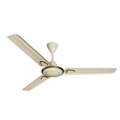 Crompton Deco High Speed Decorative 48-Inch Ceiling Fan (Birken Ivory)