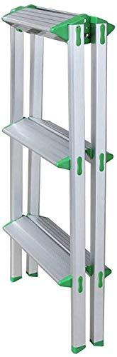 Aishang escalera hogar escalón taburete, fotografía plegable escalón, escalera plegable aleación de aluminio ancho pedal hogar silla hogar cama escritorio ordenador