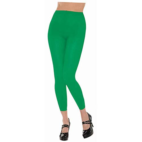 Amscan Footless Tights - Adult, Party Accessory, Green