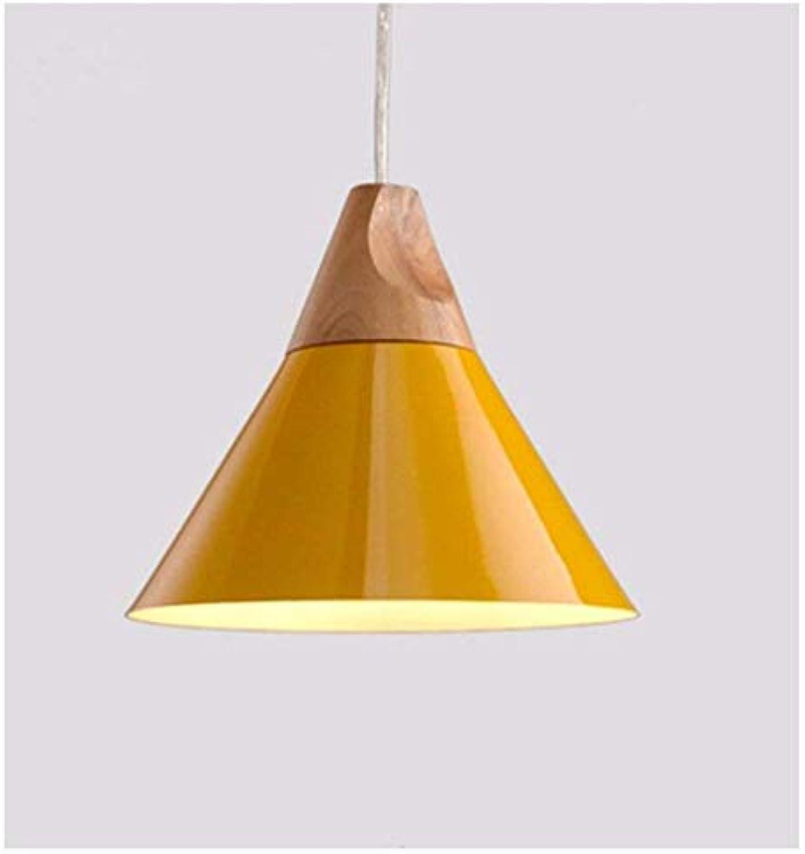 HBLJ Schlafzimmer Wohnzimmer Persnlichkeit Lampen und Kronleuchter Moderne Minimalistische Led Frigobar Massivholz Gelb 250  265 Mm
