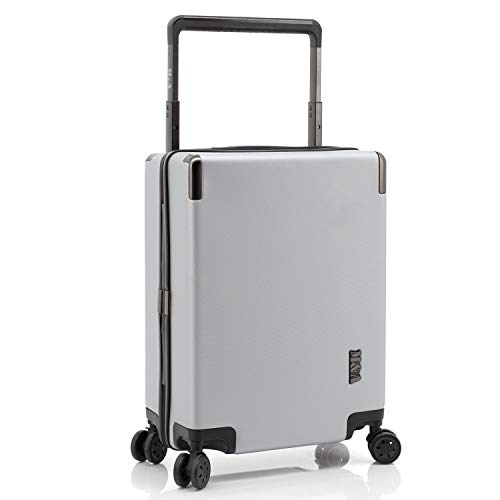 Travelers Club Luggage Spinner, Silver