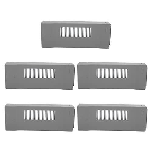5 piezas de filtro de aspiradora de repuesto para accesorios de barredora Ecovacs Deebot M80, filtro...