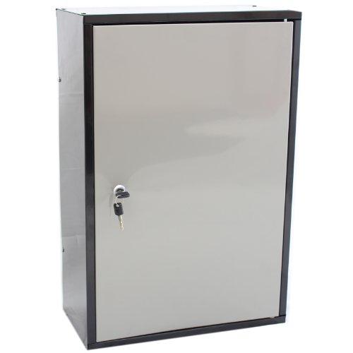 Hardcastle Lockable Metal Garage/Shed Storage Cabinet