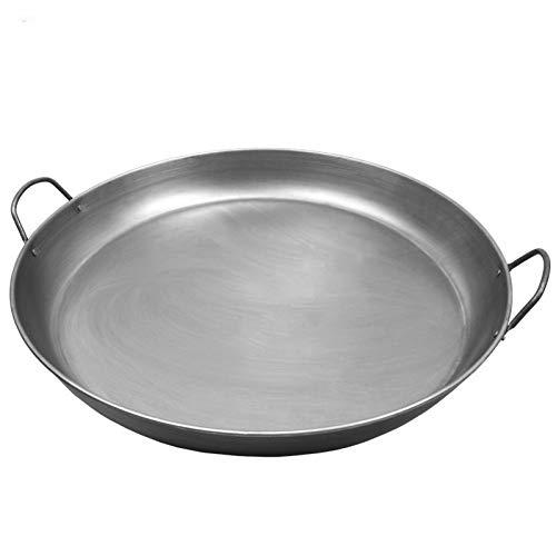 KIODS Frituurpan, microfoon, voor huishouden, pannenkoeken, vlak, pasta, dobbelsteen stand, fruit, gecoat, voor cake pan, braadpan, zonder steel