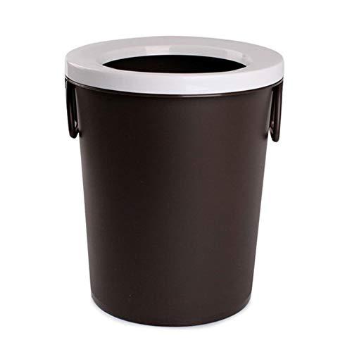 Poubelle- La corbeille en plastique ne peut pas couvrir, matière plastique de pp, appropriée au salon de chambre à coucher de cuisine, etc. (Couleur : A)