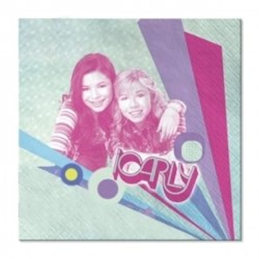 Nickelodeon iCarly 16 Count Beverage Napkins