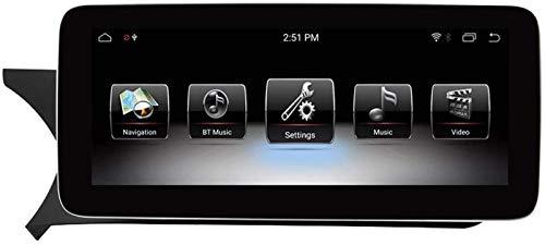FWZJ Autosion 10.25'Android 9.0 Pantalla táctil de navegación para automóvil para Mercedes Benz C CLK Clase W204 S204 2011 2012, 4GB RAM Pantalla capacitiva de Alta resolución GPS Navegación par