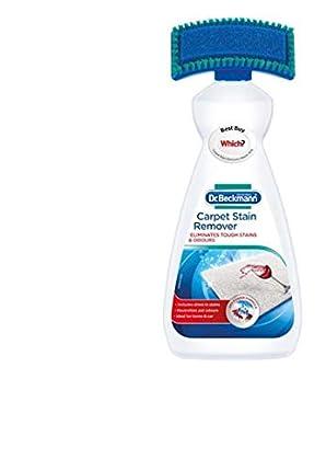 Dr Beckmann - Eliminador de manchas de alfombras con cepillo de limpieza (650 ml)