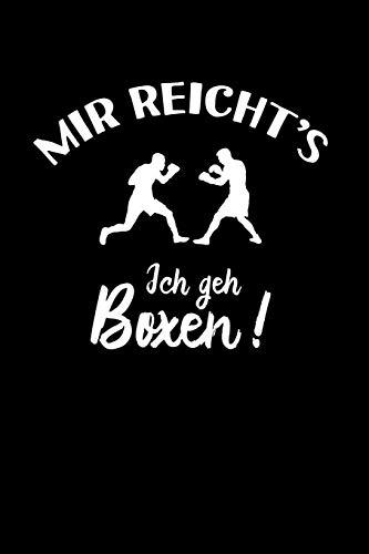 Boxer: Ich geh Boxen!: Notizbuch / Notizheft für Box-sport Box-Fan A5 (6x9in) liniert mit Linien