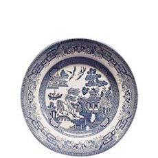 "Churchill Blue Willow Plate 8"" (Set of 6)"
