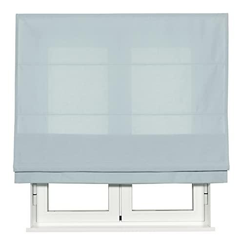 VIEWTEX - Estor Plegable Crystal TREVIRA - Disponible en Varias Medidas y Colores (Agua, 90x250)