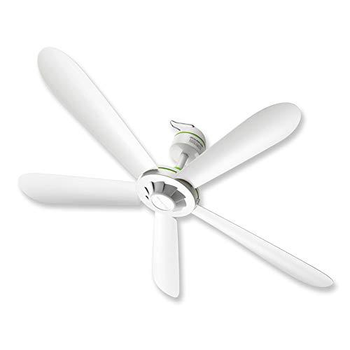 Fan 35-Zoll-Decke Deckenventilator, ABS-Kunststoff-Deckenventilator ohne Licht, Weißer leiser Deckenventilator, Indoor Schlafzimmer Küche mobilen Deckenventilator (Durchmesser 900MM)