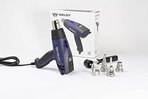 Weldy 220V 2300W Hot Air Wind Blower Plastic Heat Gun Plus Style