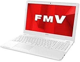 富士通 15.6型ノートパソコン FMV LIFEBOOK AH50/D1 プレミアムホワイト(Core i7/メモリ 4GB/HDD 1TB/Office H&B 2019) FMVA50D1WP