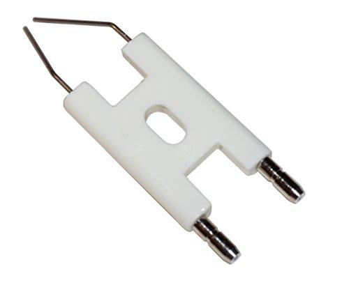 Doppelzündelektrode H Typ, Zündelektrode für Verschiedene Ölbrenner Typen, Kontaktsteckerdurchmesser 4 mm