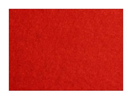 Platino in feltro 20 x 30 cm spessore 0,9 mm 166 G/m2 (07) rosso