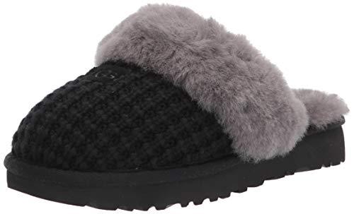 UGG Cozy Slipper, Black, Size 7