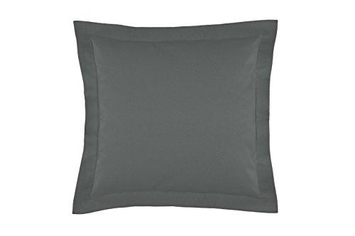 Gabel Iride meubelkussen, 100% katoen, grijs potlood, 42 x 42 x 18 cm