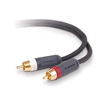 Belkin PureAV RCA Audio Cable (6 feet) (B00022TN86)   Amazon price tracker / tracking, Amazon price history charts, Amazon price watches, Amazon price drop alerts
