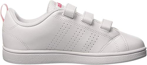 adidas Damen VS Advantage Clean CMF Fitnessschuhe, Weiß (Bb9978 Blanco), 35 EU