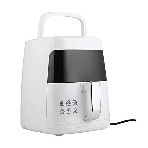NCRD Freidora de Aire, Máquina de Fries de Control Inteligente Pan Sin Stick Free Libre de Aceite Freidora Automática Automática