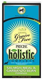 Precise Holistic Complete Canine Salmon And Garbanzo Bean Pet Food