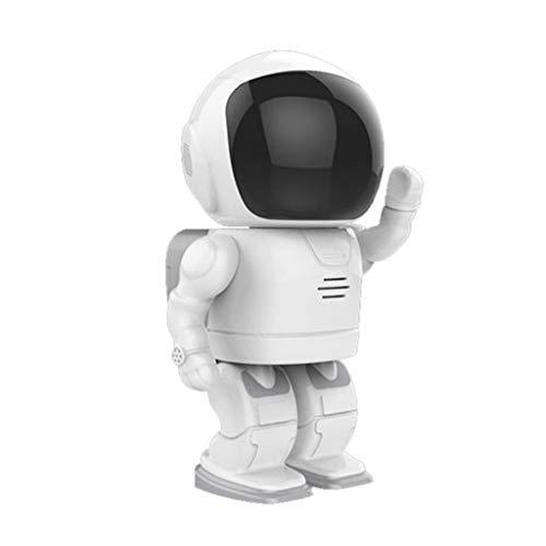 ZZSJC Robot Inteligente Cámara inalámbrica HD Visión Nocturna WiFi Red Móvil Remoto Monitor en casa (Style : 1080P)