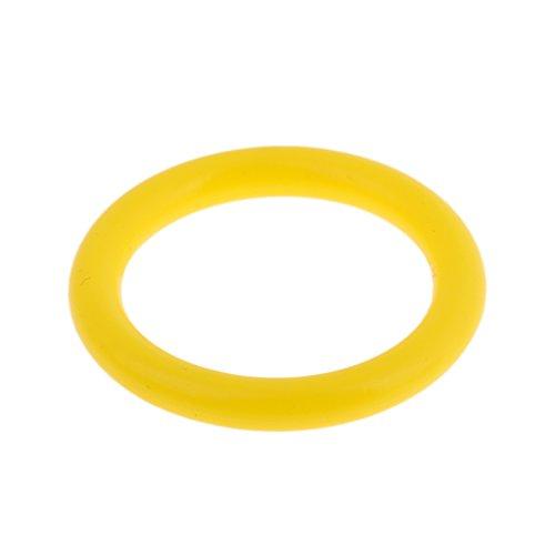 Toygogo Robuster Elastischer O Ring Für Taucher Aus Silikon Für Taucher Tankventile/Atemregler/BCD Schläuche/Kamera/Lichter Wählen Sie Farben - Fluo Gelb