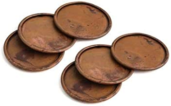 Thirstystone Congo Sunset Torched Copper Finish Coasters, Set of 6