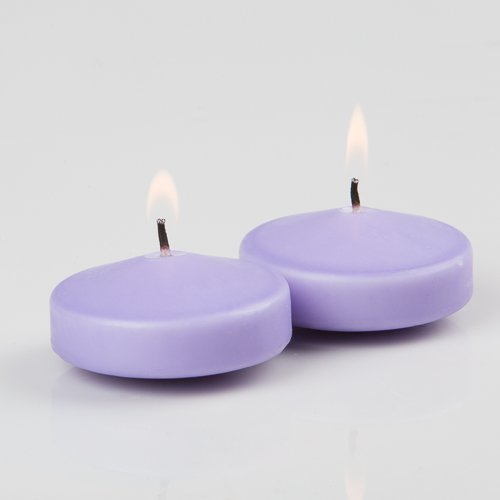 "3"" Lavender Richland Floating Candles Set of 36"