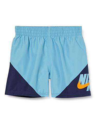 NIKE 4 Volley Short Bañador, Niños, Cerulean, XL