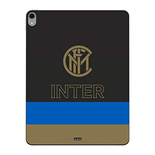 Head Case Designs Officially Licensed Inter Milan Stripes Graphics Matte Vinyl Sticker Skin Decal Cover Compatible With Apple iPad Pro 12.9 (2018)