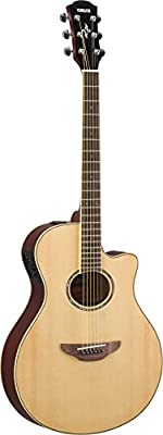 Yamaha Thin Body Acoustic-Electric Guitar